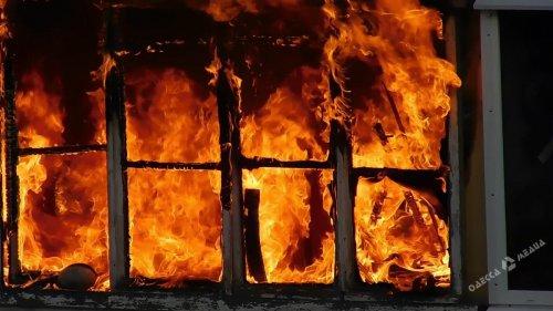 В Одесской области горела пекарня