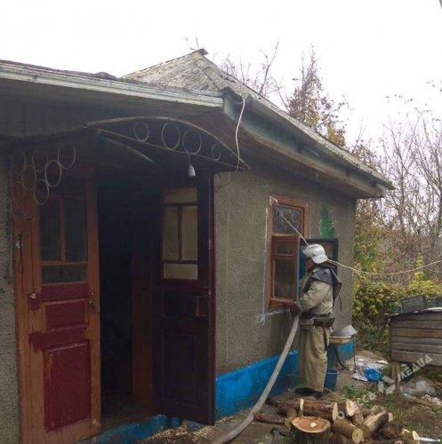 При пожаре в Одесской области погиб 50-летний мужчина