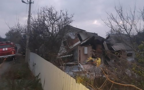 На Киевщине из-за взрыва газа рухнула часть жилого дома