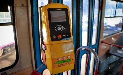 В одесском горэлектротранспорте внедряется безналичная оплата проезда