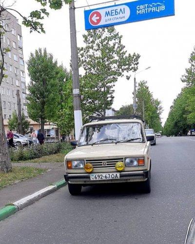 В Черноморске автомобиль «Жигули» сбил женщину на пешеходном переходе