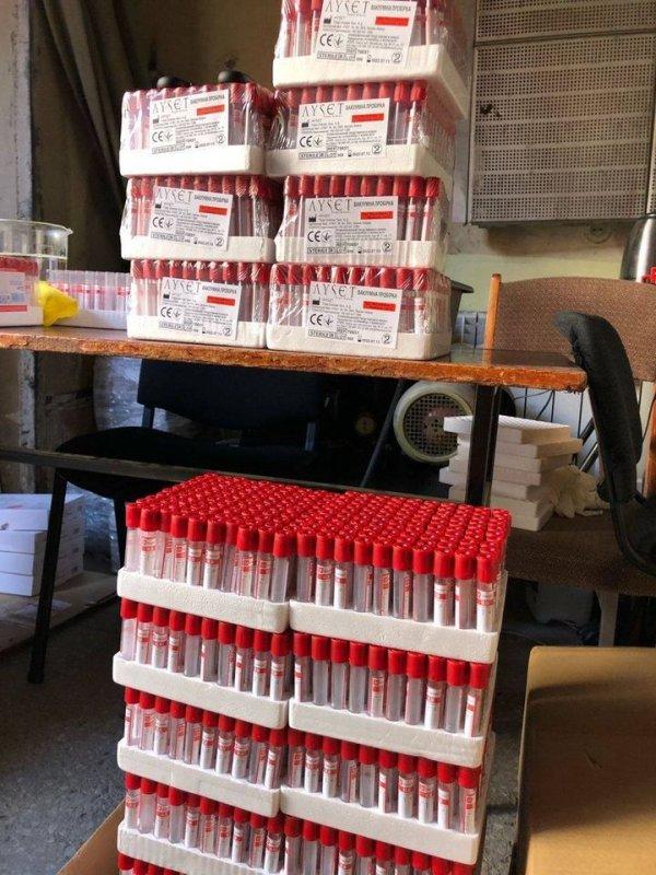 В Украине в подпольном цеху изготовили 200 тыс. тестов на коронавирус