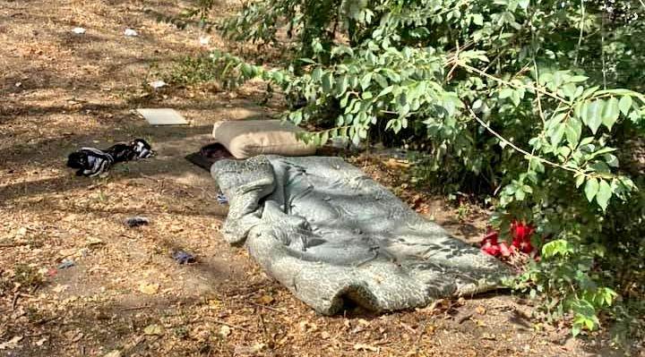 Умерла мама в семье, которая стала жить в одесском парке