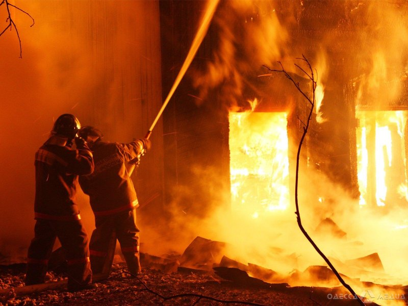 В Одесской области ликвидировано возгорание магазина: спасено имущество на млн грн. (фото)