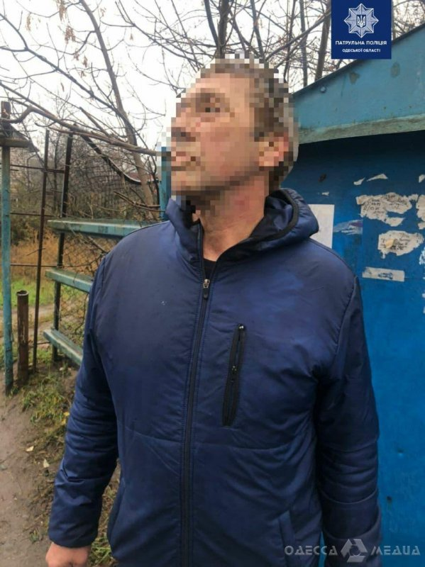 В Суворовском районе Одессы стражи порядка задержали «закладчика» с метадоном (фото)