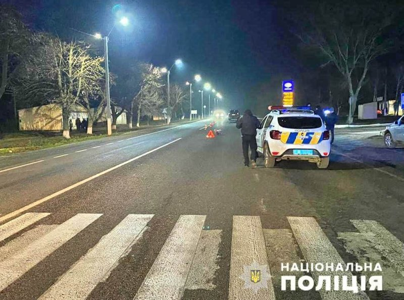 Под Одессой внедорожник Toyota сбил насмерть людей на пешеходном переходе