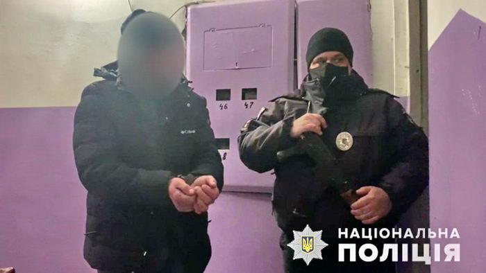 Домашний тиран напал на полицейского в Одесской области