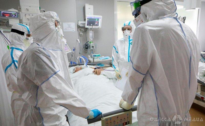 Одесская область в ТОП-5 по количеству летальных случаев от осложнений, вызванных коронавирусом