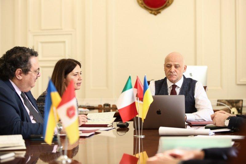 В Одессе стартовал новосозданный украинско-итальянский проект (фоторепортаж)