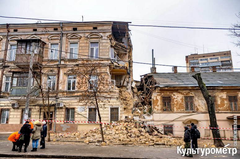 Мэрия предоставила общежитие жильцам рухнувшего дома на Нежинской