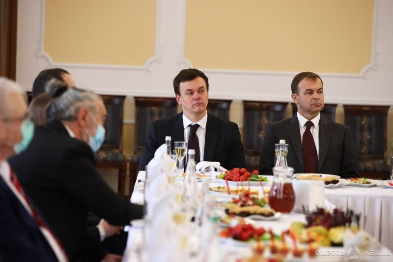 Завтрак с дипломатами в Одессе: обсуждение формата международного сотрудничества в условиях карантина (фото, видео)