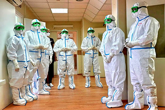 Украина вышла на первое место в Европе по числу новых больных коронавирусом