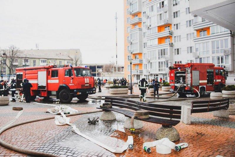 """Пожар в одесском ЖК """"Апельсин"""" – противопожарные системы не сработали"""