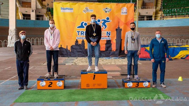 Одесский триатлонист стал чемпионом Украины