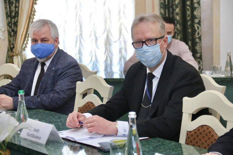 Делегация ЕС посетила Одесский университет внутренних дел