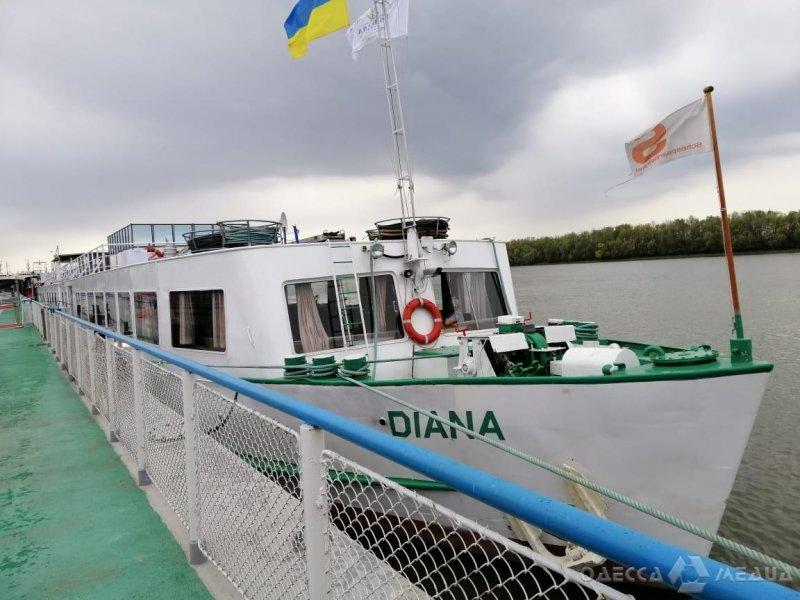 В порту «Измаил» пограничники оформили первое круизное судно (фото)