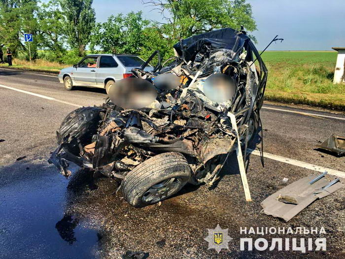 На трассе Одесса-Николаев столкновение с фурой. Погибли два человека
