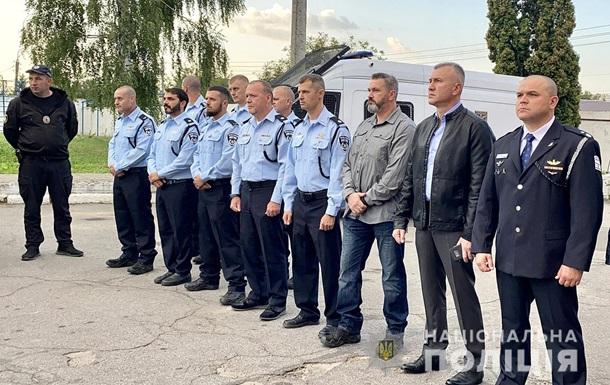 В Умань прибыли полицейские из Израиля