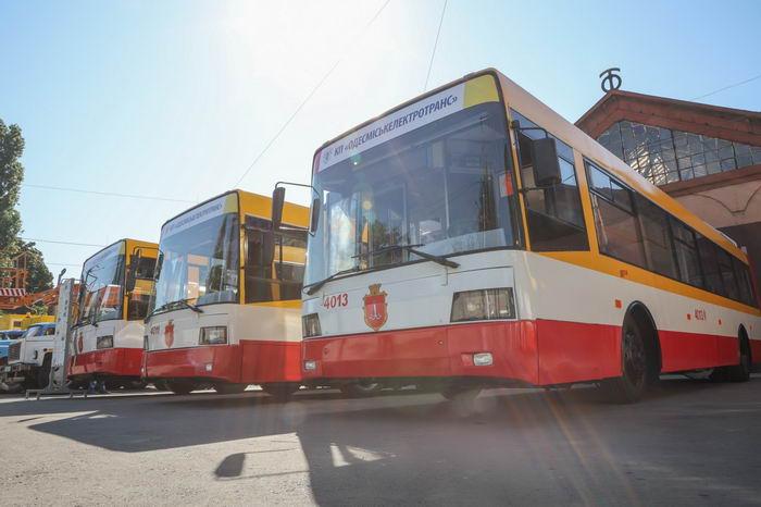 В Одессе появится новый троллейбусный маршрут с вокзала на Балковскую через Приморскую