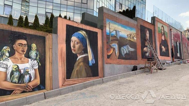 Вдоль Трассы здоровья представят самую длинную картинную галерею под открытым небом