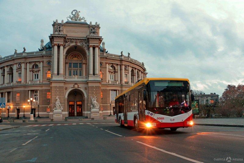 Одесситы стали больше ездить на электротранспорте