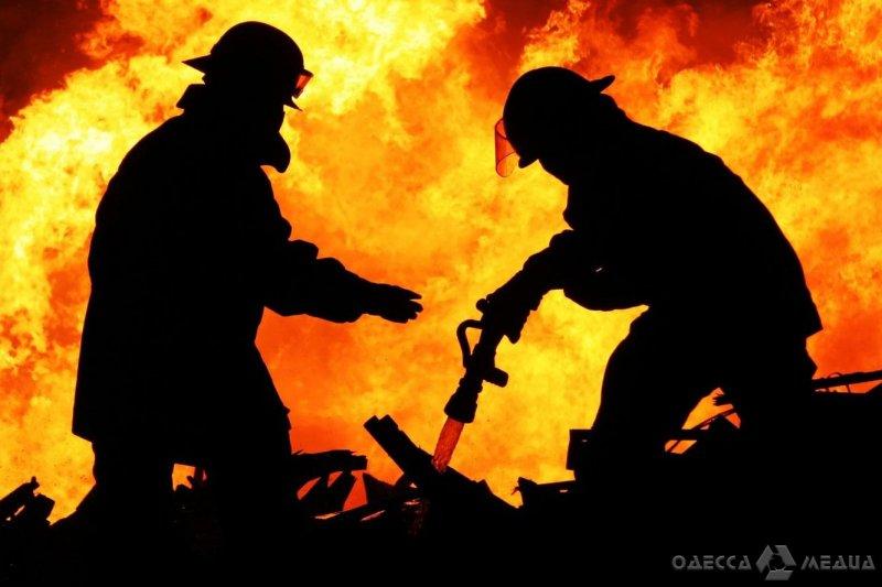 ГСЧС в Одесской области: пожарные спасли от уничтожения огнем дом и хозпостройку